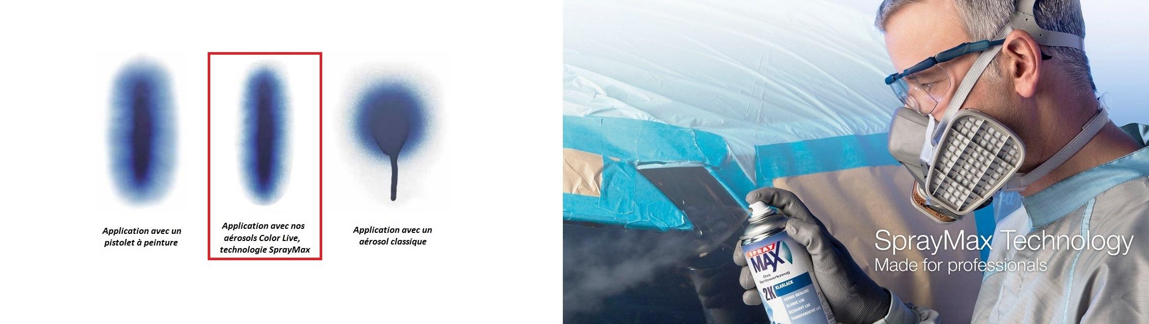pack bombe aerosol peinture vernis auto. Black Bedroom Furniture Sets. Home Design Ideas