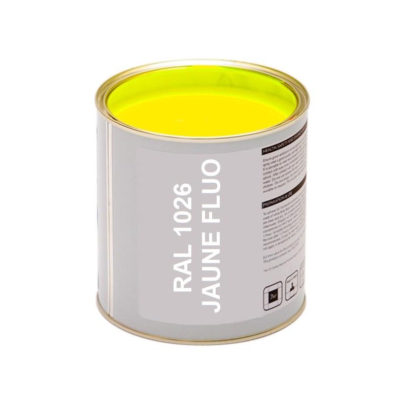 Peinture fluo jaune - Peinture metallisee murale ...